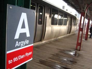 The Argyle eL station